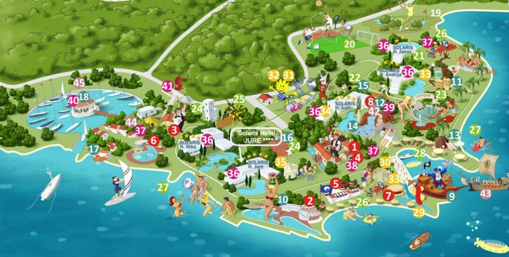chorwacja apartamenty basen relaks międzybrodzie bialskie mapa